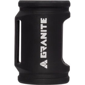 Granite Punk CO2 Inflator with Silicone Sleeve for 25g Canister black